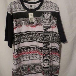 South Pole Print T-Shirt, NWT, Sz. XL